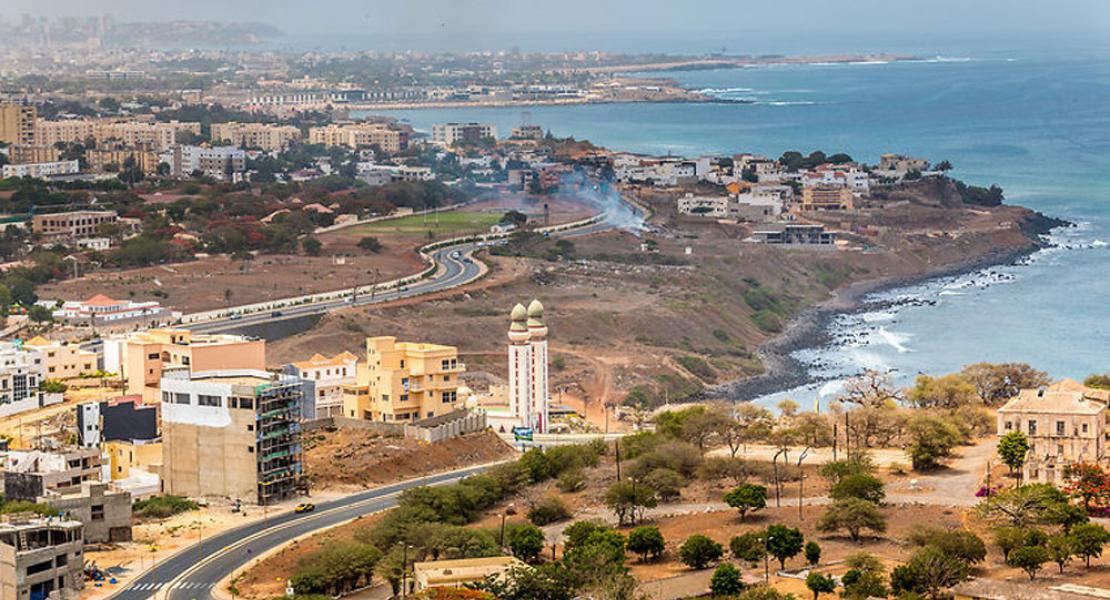 Dakar from above